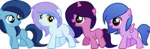 Mini Pony Adopts 1 [OPEN] by LittleCloudie