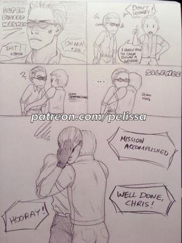 How to handle an angry Wesker by Pelissa