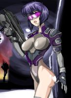Motoko Kusanagi 2nd Edit by qayyz