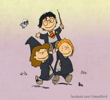 Harry Potter Peanuts by Che-Crawford