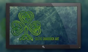 Shamrock Wallpaper by verdigod