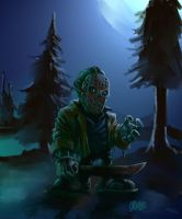 "SPEED PAINT ""Friday the 13th"" by Grimbro"