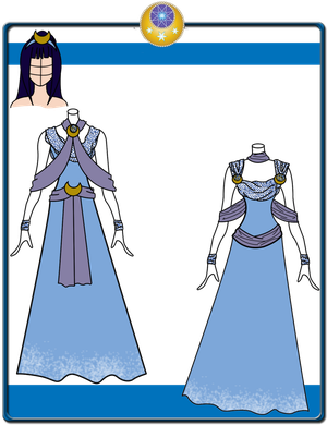 Quietus Designs: Lunar Mist Gown ~ Incomplete