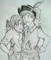 APH: Bumpkin Spain and Romano by ReinoEspanol