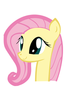 Fluttershy-my 1st vector! by Star-Paint-pony