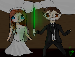 Lauren and Hunter .:Wedding Gift:. by IvyDevi