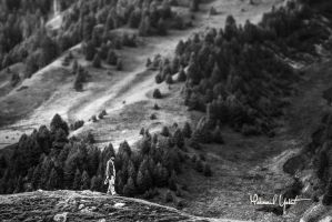 mountain man by MahmoudYakut