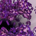 Purple Star Anise - Pong 423 by GraphicLia