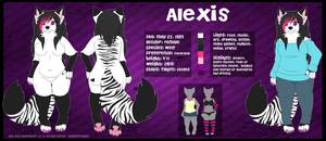Alexis Reference [ANTHRO] by LexiCakes