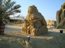 Sand art in burgas 6 by tonev
