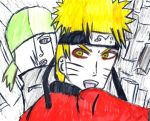 Blood Prison Sage Mode Naruto and Ryuuzetsu by Fran48