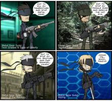 Metal Gear Snakez guest comic by ebbewaxin