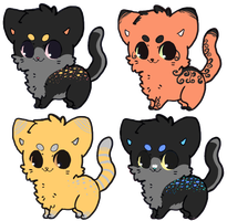 Kitten Adoptable Auctions OPEN by SquidPup