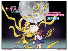 Pretty Guardian Sailor Moon Crystal by Chibi-Jennifer