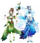 JD Emerald Dancer and Cloud Hunter by Cowslip