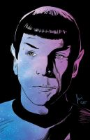 Spock - Across the Universe by JamieCOTC