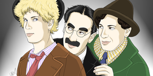 The Marx Brothers by kayori