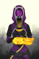 Tali'Zorah Vas Normandy by LEM0NAD3