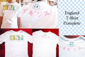 England T-shirt - complete by leo22334455
