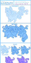 Wispups Species Guide ***OUTDATED*** by Kitsurie