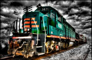 Train Storm by jmotes