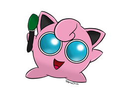 Jigglypuff by SpinaOscura