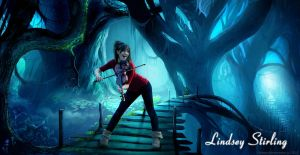 Lindsey Stirling Photo Manipulation by DJnetZ