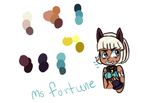 Ms forturne colors by Blazeandsilverforeve