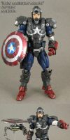 Iron American Armor Captain America by Jin-Saotome
