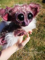 Pink Ringtail Possum -Handcrafted- Rhiannon Woolf by RhiannonWoolf