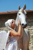 Serenity with Unicorn Pegasus by Cosmy-Milord