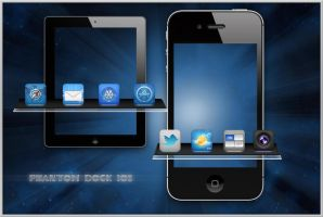 Phantom Dock iOS by turnpaper