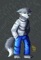 A bad day [ commission ] by Hiyoko-little-chick