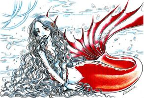 CLAMP XXXHolic Mermaid Character by Tsukijinja