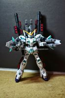 HGUC 1/144 Full Armor Unicorn Gundam Destroy Mode by angelprisz