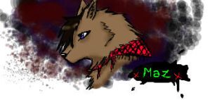 Wolf Me Iscribble by XxMaz-AlmightyxX