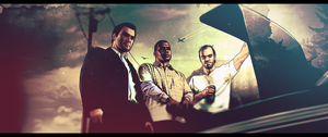 Gta V Front Facebook by Mrsheloner