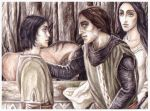 Maeglin, Eol and Aredhel by peet
