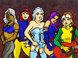 CA! Week 74: X-MEN WOMEN by photon-nmo