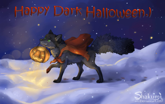 Happy Dark Halloween by Dark-Arctic-Fox