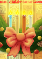 Avatar Advent Calendar: Day 16: Wreath by Mattierial