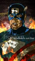 Captain America: Freedom is Not Free by BrentJS