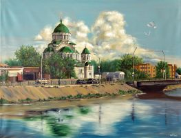 St. Vladimir's Temple by chebot