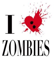 I Heart Zombies by mostlymade