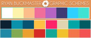 My graphic color scheme  by justAbuck