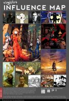 Influence Map Meme by virgiliArt