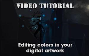 [Video tutorial] Editing colors in digital artwork by DamaiMikaz