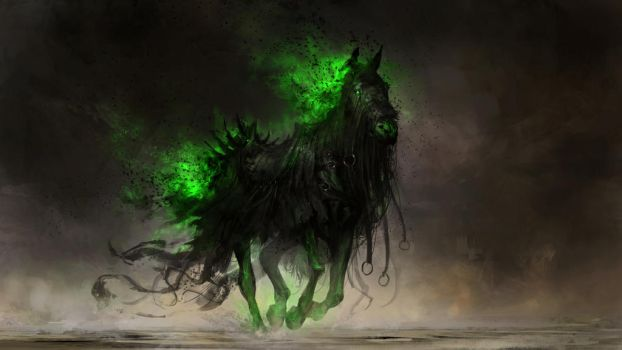 Fear, the black horse of famine by theDURRRRIAN