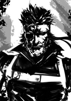 Big Boss by arsenixc