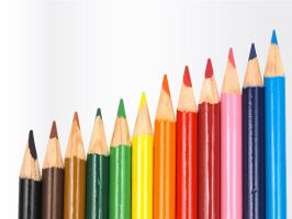 Colorful Pencils by Vector-Stock